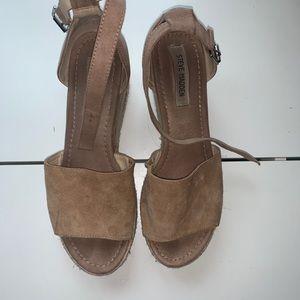 Steve Madden Espadrille Platform Sandals